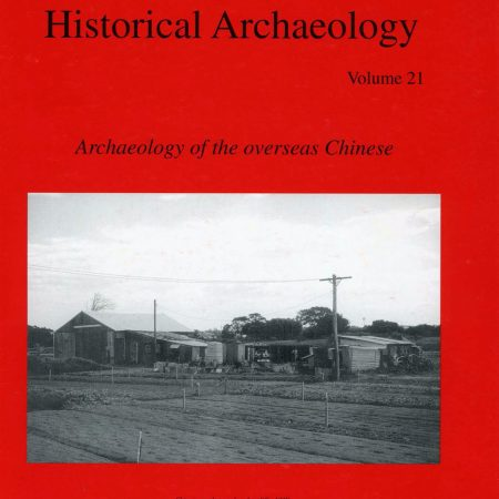 Cover of Australasian Historical Archaeology volume 21 (2003)