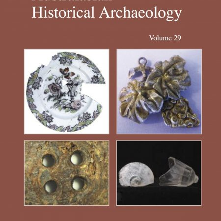 Cover of Australasian Historical Archaeology volume 29